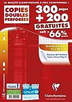 Certifications: PEFC Dimension au format: A4 EAN pièce: 3329680147919 Grammage: 90 Matière intérieure: Papier Nombre de feuilles: 250 Référence: 14791C Taille: 21X29,7CM