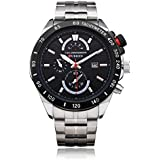 Curren Casual Watch For Men Analog Stainless Steel - 8148