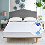 Best Breathable Mattress Protectors - Waterproof Mattress Protector Double Bed (135x200 cm) Hypoallergenic Review