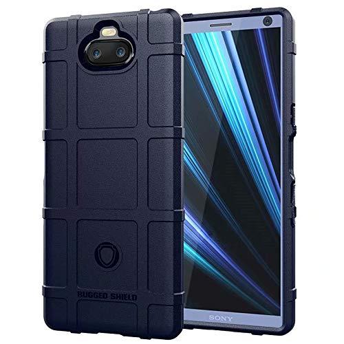 5aeb7f6c57f BINISSCQIRITHLL Estuche de TPU a Prueba de Golpes Rugged Shield de  Cobertura Completa para Sony XA3 Design (Color : Blue)
