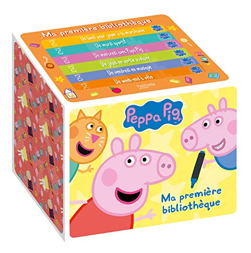 Peppa Pig-Ma première bibliothèque - NED