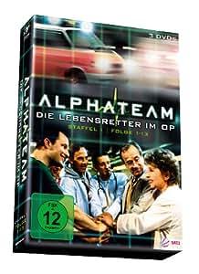 Alphateam - Lebensretter im OP - Staffel 1/Folge 1-13 + Pilotfilm [3 DVDs]