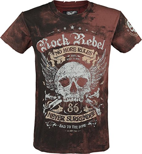 rock-rebel-by-emp-no-more-rules-spray-wash-t-shirt-braun-xxl