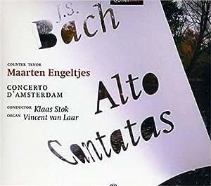 Alto Cantatas BWV 170, 54, 35