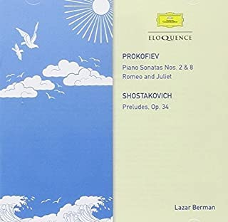 Prokofiev: Sonatas Nos. 2 & 8 and Romeo & Juliet / Shostakovich: Preludes Op.34 by Lazar Berman (B00M2XHOKW) | Amazon Products