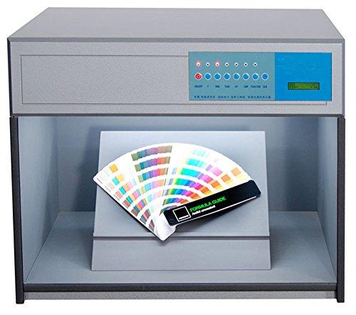 MXBAOHENG Cabinet de Correspondance des Couleurs Couleur Assesment Cabinet 6 Sources de lumière : D65 Tl84 UV F CWF U30 Boîte de Couleur 220V