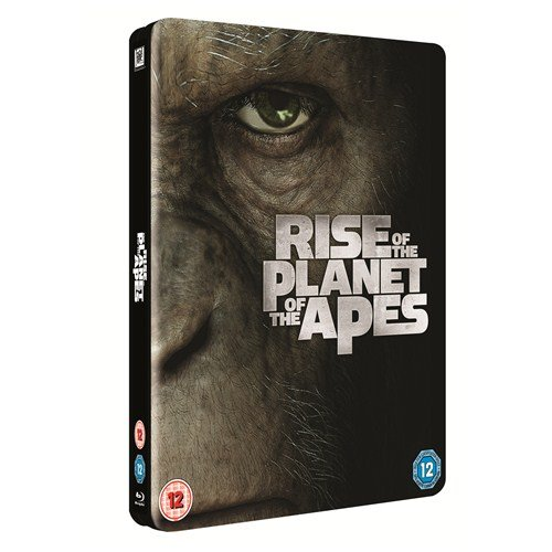 Rise Of The Planet Of The Apes: Triple Play Exclusive Steelbook Blu-ray (Rare out of Print)