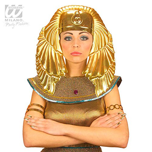 "WIDMANN S.R.L., HEADWEAR Ã""GYPTISCHE GOLD (Cleopatra Kostüm Ideen Kopfbedeckung)"