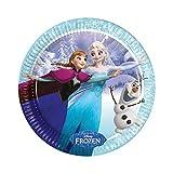 Disney Frozen Teller Cut Out Hängedekoration Frozen Neu Ice Skating Dekoration Raumdekoration ELSA und Anna Kindergeburtstag