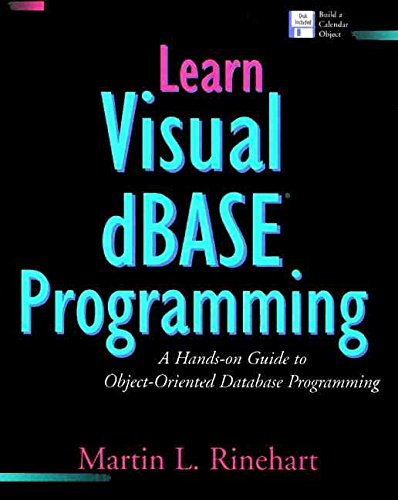 [(Learn Visual Dbasic Programming : A Hands-On Guide to Object Oriented Database Programming)] [By (author) Martin L Rinehart ] published on (March, 1995)