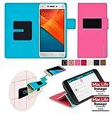 reboon Hülle für Oppo R7 Lite Tasche Cover Case Bumper | Pink | Testsieger