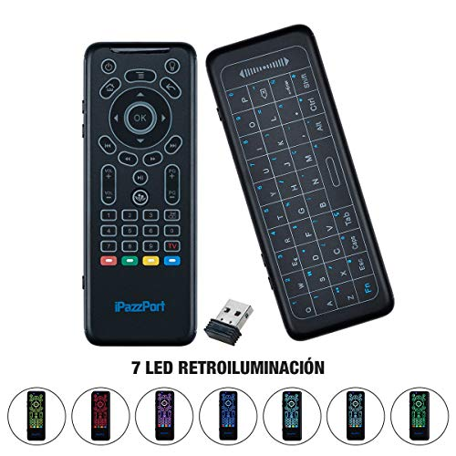 Lychee Wireless 5-in-1 Air Mouse Remote Keyboard with