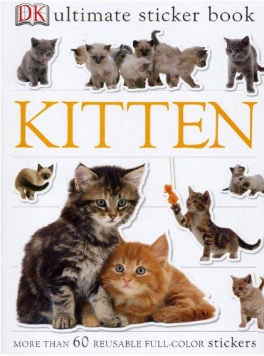 Kätzchen Aufkleber Buch