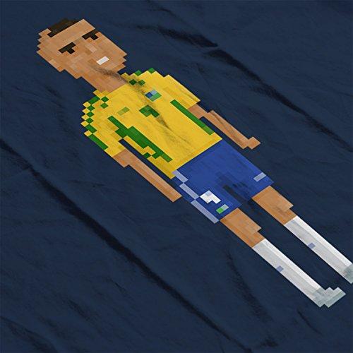 Pixel Cristiano Ronaldo Men's Vest Navy Blue
