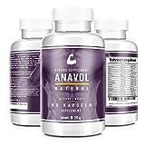 ANAVOL © - TESTO BOOSTER EXTREM | trockener Muskelaufbau | Aminosäuren für mehr Pump | mehr Energie, Ausdauer und Kraftanstieg | mehr Motivation und Focus | 60 Kapseln