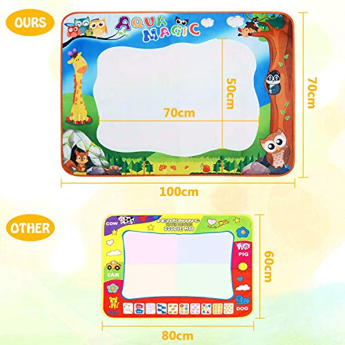 Zoom IMG-1 yetech doodle tappeto magico 100cm