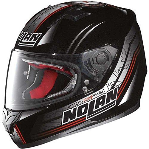Nolan N64Moto GP Casco Integral–Metal Negro Tamaño L