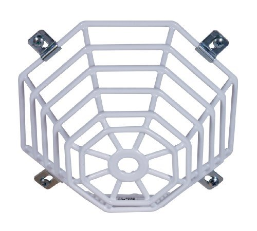 Safety Technology International, Inc. STI-9604 Steel Web Stopper, for Mini Smoke Detectors, Flush Mount, Protective Coated Steel Wire Guard by