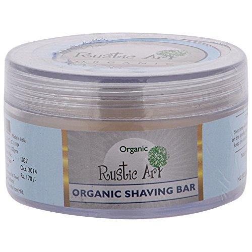 Rustic Art Organic Shaving Bar, 100gm