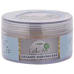 Rustic Art Organic Shaving Bar, 50 gm