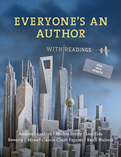 Everyone's an Author: With 2016 Mla Update and Readings