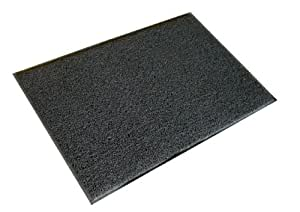 Doortex Twister FC46090TWISG Tapis d'extérieur Surface fibre vinyle/dessous vinyle Gris 60 x 90 cm (Import Royaume Uni)