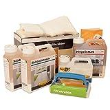 Faxe Bodenpflegebox mit Pflegeöl Plus weiß für weiß geölte Holzböden