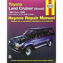 Toyota Land Cruiser Petrol & Diesel Australian Automotive Re: 1980-1998 (Haynes Automotive Repair Manuals)