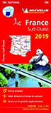 Carte France Sud-Ouest Michelin 2019...