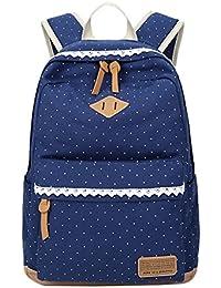 Mochilas Escolares Juveniles Impresión Moderna Mochila Escolar Infantiles Lona Bolsa Casual Backpack Laptop Mochila de Viaje para…