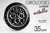 OROLOGIO DA PARETE FIGURA OROLOGIO POLSO SPORTIVO METALLO TIPOLOGIA ROLEX COD.588785