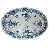 Villeroy & Boch: Valeria blau - Platte oval ca 32 x 21 cm