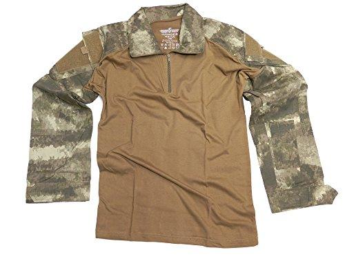 Under Armour T-shirt Uniform (Invader Gear UBACS Combat Shirt Stone Desert Airsoft Under Armour)