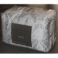 TRAPUNA MATRIMONIALE ZUCCHI COLLECTION REGAL PAISLEY COL.5 BIANCO / GRIGIO 260 x 260 100% RASO DI