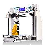 JGAURORA Imprimante 3D Imprimante 3D de Bureau Imprimantes 3D Monture en métal d'assemblage Prusa i3 kit ABS PLA Filament 1.75mm ...