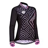 ZEROBIKE Frauen Langarm Radtrikot Outdoor Sports...