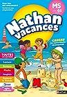Cahier de Vacances 2019 de la Moyenne Section vers la Grande Section - Maternelle 4/5 ans