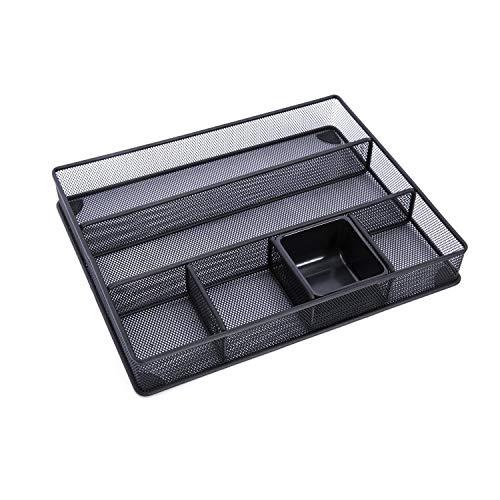 DESIGNA Mesh Desk Supplies Organizer, Schreibtischschubladen-Organizer (Größe: 15
