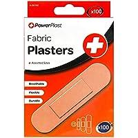 powerplast 4 x verschiedene Größen sebstklebend Stoff Pflaster - 100er Pack - Medizinische Zubehör, Erste Hilfe... preisvergleich bei billige-tabletten.eu