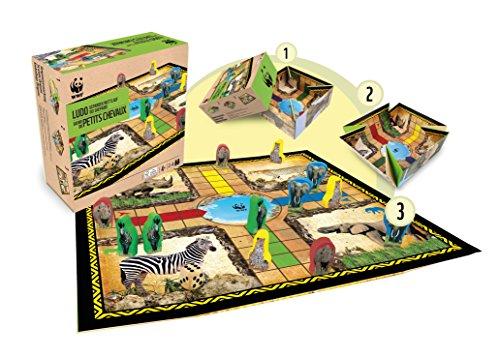 WWF - Safari Circuito de Guepardos, parchís clásico (981)