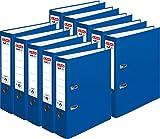 Herlitz Ordner maX.file protect A4, 8 cm breit (10er Pack | blau)