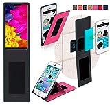 reboon Hülle für Sharp Aquos D10 Tasche Cover Case Bumper | Pink | Testsieger