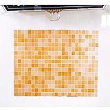 Zegeey Badezimmer Küche Toilette Wasserdichte Selbstklebende Aufkleber Mosaik Fliesen Tapete Wandaufkleber