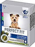 Perfect Fit Hundesnacks Hundeleckerli Zahnpflegesticks für sehr kleine und kleine Hunde <10kg, 35 Sticks (5 x 7 Sticks)
