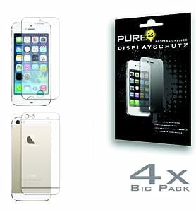 Pure² Protection Displayschutzfolie (4-er Pack) für Apple iPhone 5S matt
