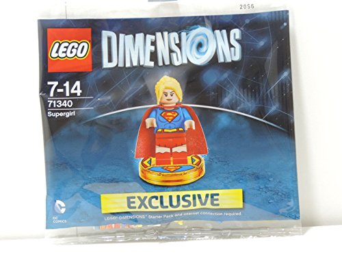 71340-Lego-Dimensions-Exclusive-SuperGirl-Limited-Edition-Rare-Super-Girl