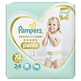 #6: Pampers Premium Care Pants Diapers, X-Large, 24 Count