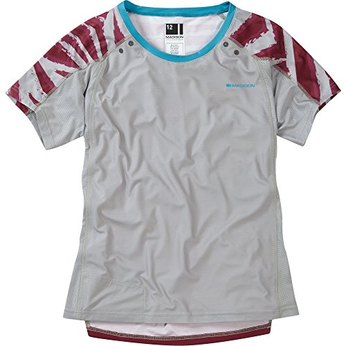 Madison Flux Enduro Women's Short Sleeve Jersey Red Size 14 -