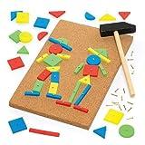 Baker Ross Hammerspiel für Kinder zum Basteln und Gestalten (pro Set)
