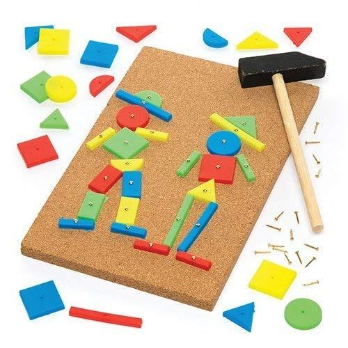Baker Ross- Kit Crear Decoraciones Martillo Pack Individual